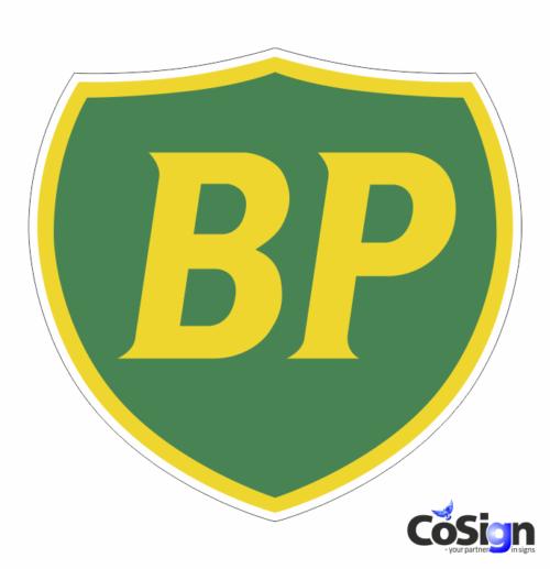 BP 1 klistermærke
