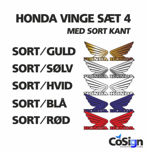 HO 6 Honda Vinge sæt 4