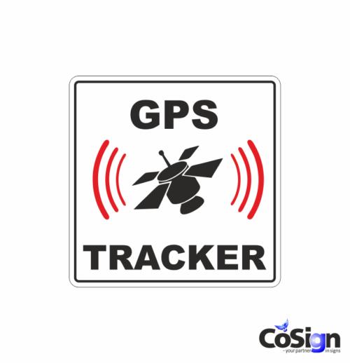 AL 71 gps tracker klistermærke
