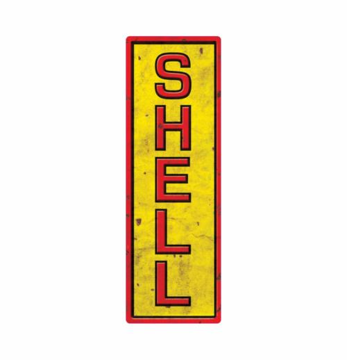 shell 7 benzin klistermærke