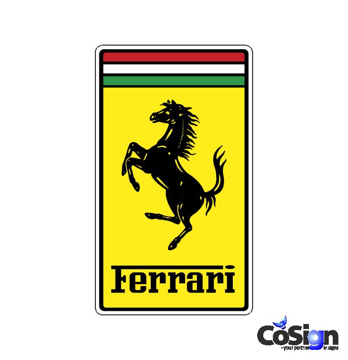 Ferrari 1 Cosigndk Klistermærker Stickers Og Decals