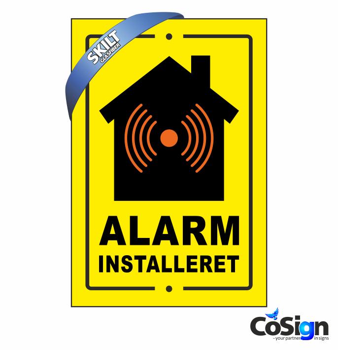 AS6 Alarmskilt gul2