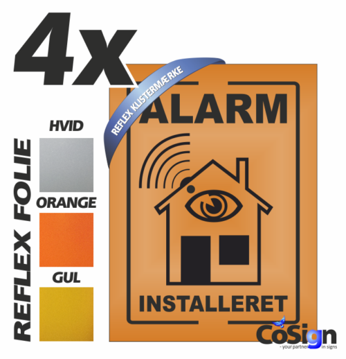 AL1 klistermærker REFLEX