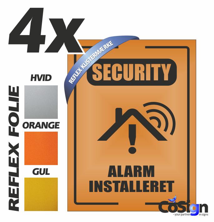 AL51 klistermærker REFLEX