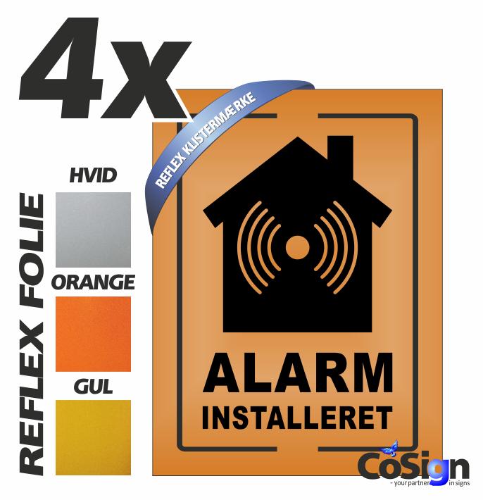 AL6 klistermærker REFLEX