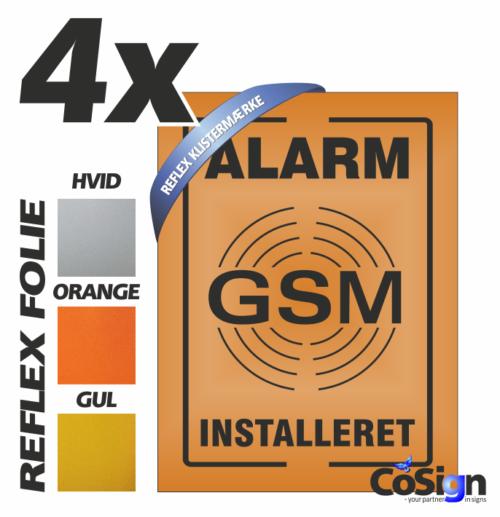 GSM39 klistermærker REFLEX