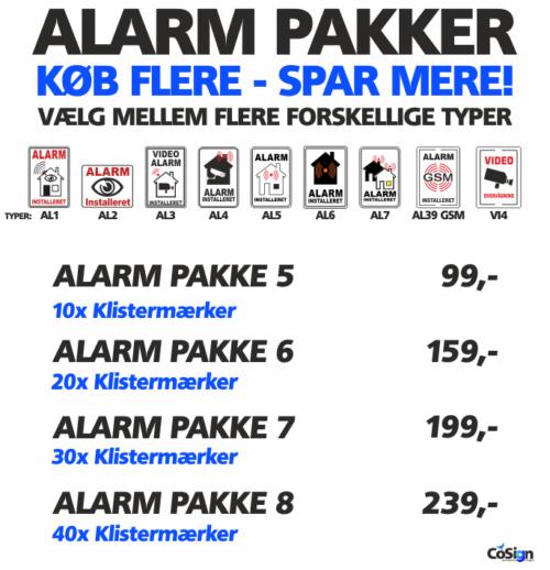 Alarm pakker 2