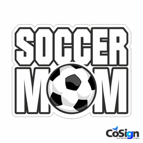 KL70 - Soccermom1 hvid