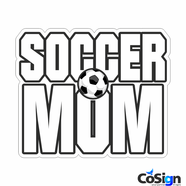 KL71 - Soccermom2 hvid