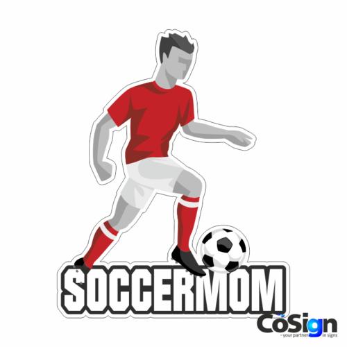 KL73 - Soccermom4 hvid