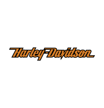 Orange Harley Davidson logo