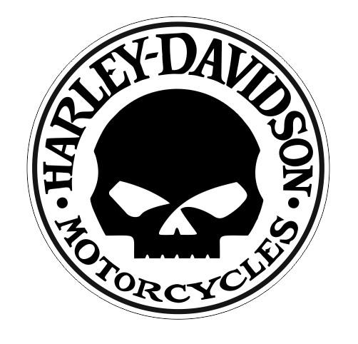 Harley davidson Skull logo h40