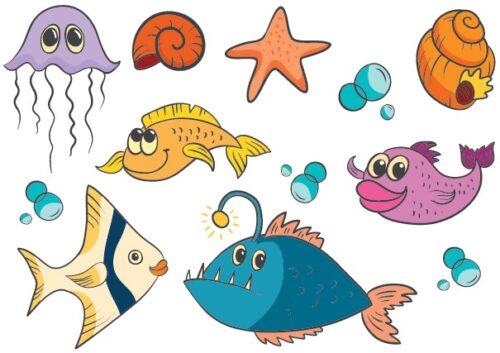 Søde fisk og havdyr